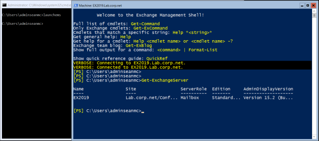 Install Exchange Server 2019 (Preview) on Windows Server